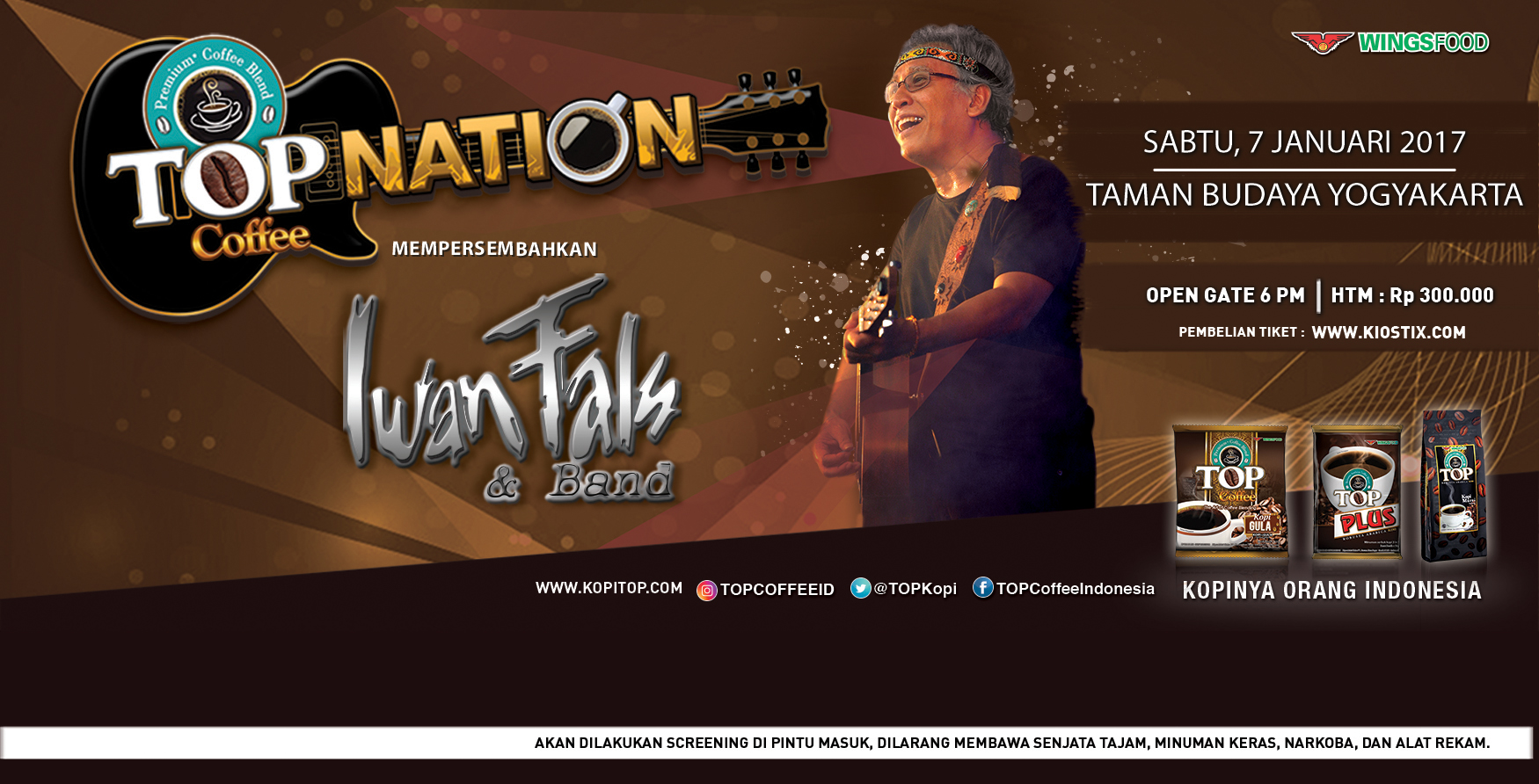 Top Nation Coffee Iwan Fals Concert