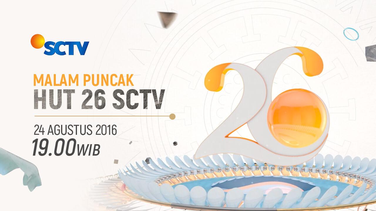 Malam Puncak HUT 26 SCTV