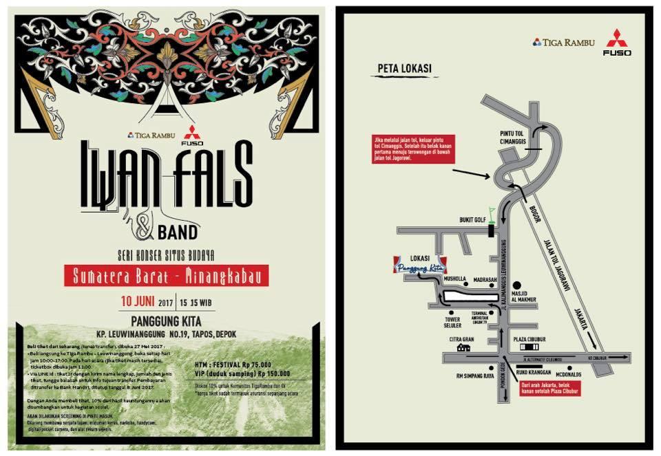 Konser Situs Budaya: Sumatera Barat-Minangkabau